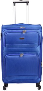 JOURNEY9 RAMBO 55_BLUE Expandable  Cabin Luggage - 20 inch