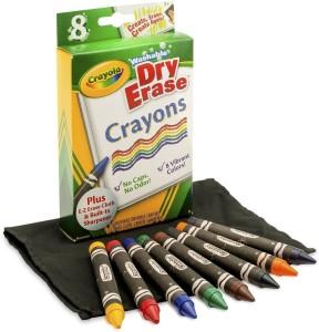 Crayola Washable Dry Erase Crayons