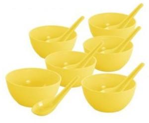 DS ZONE soup bowel set Plastic Bowl Set