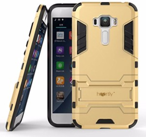 best service e738d abb14 Heartly Back Cover for Asus Zenfone 3 Laser ZC551KL (5.5 Inch)Mobile Gold