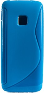 The Little Shop Back Cover for samsung metro b350eLight Blue, Shock Proof