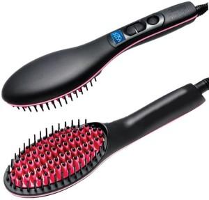 Wonder World Complete Look™ -Type-016 ™ Digital Electric Hair Straightener Comb Heating Detangling Hair Brush