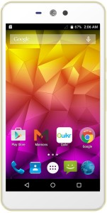 Micromax Canvas Selfie Lens (White, Champaagne, 8 GB)