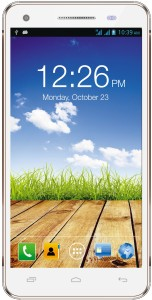 Micromax HUE2 (White, Gold, 16 GB)