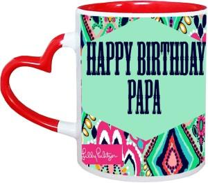 Muggies Magic Papa Name Happy Birthday Gift Ceramic Mug