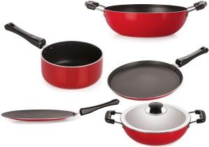 NIRLON Best Cooking Set Tawa, Kadhai, Pan Set
