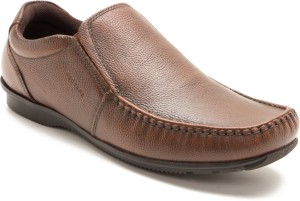 Red Tape RTR1852 Slip On Brown Best Price in India  8d10b02b4015