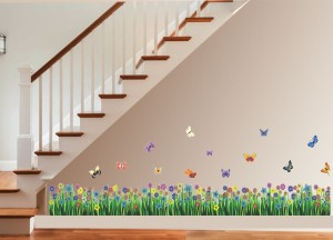 New Way Decals Wall Sticker Floral & Botanical Wallpaper
