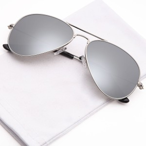 b5be1f4fa85 AZMANI AVIATOR SILVER REFLECTOR Aviator Sunglasses Silver Best Price in  India