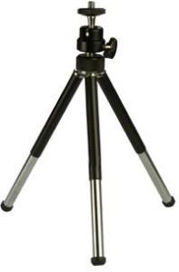 De-TechInn Adjustable Mini Mobile Phone Camera Stand Metal Tripod