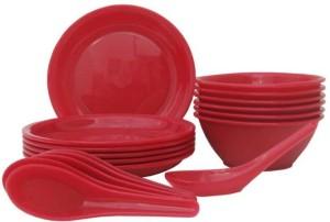 DS ZONE SOUP BOWEL SET 18 pc Plastic Bowl Set