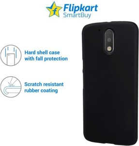 new styles 56566 3dff3 Flipkart SmartBuy Back Cover for Moto G4 Plus, Moto G4Black