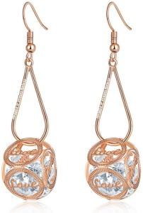 Jewels Galaxy Luxuria Swarovski Crystal Alloy Drop Earring