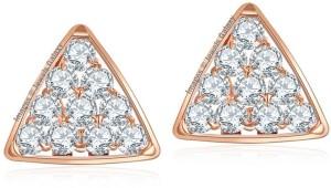 Jewels Galaxy Luxuria Swarovski Crystal Alloy Stud Earring