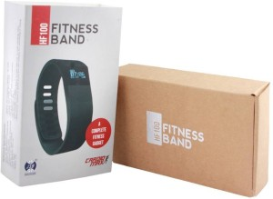 JSB Cardio Max HF100 Fitness Band Watch for iPhone & Android Smartphones Fitness Band