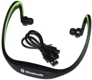Shopkeeda Services BS19_Music_GRN-a Wireless Bluetooth Gaming Headset With Mic