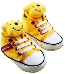 6d9011717aa56 Baby Bucket Boys Girls Velcro Derby Shoes Yellow Best Price in India ...