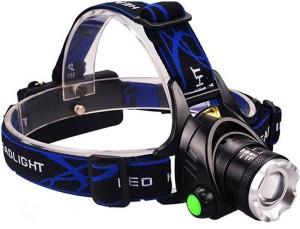 VibeX ™ Weather Resistant Spot Beam Headlight Flashlight LED Headlamp