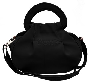 Tap Fashion Women Black PU Sling Bag Best Price in India  bf42531ff4119