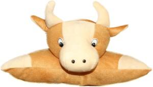Tickles Bull Cushion  - 21 cm