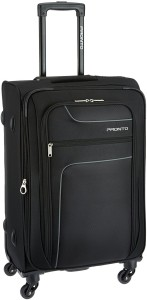 Pronto PR0030278-BK|PRONTO NEW YORKER 4 W Spinner 78 BLACK Expandable  Check-in Luggage - 310 inch