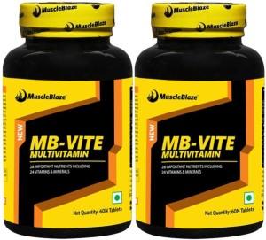 MuscleBlaze MB-VITE Multivitamin (Pack of 2)