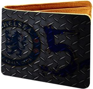 AZAADCOLLECTION Men Multicolor Genuine Leather Wallet