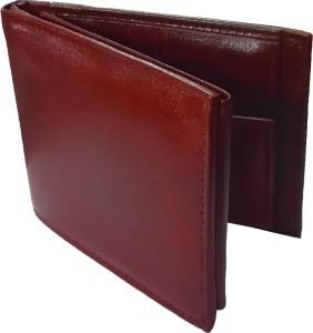 Ifrazon Men Brown Genuine Leather Wallet