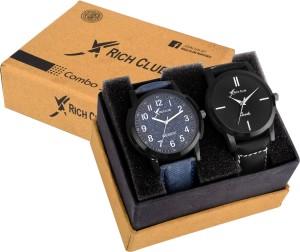 Rich Club RC-1098+6127 Analog Watch  - For Men