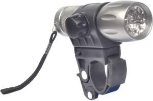 UDee Bicycle 5 LED Aluminum-Alloy Headlight Bell