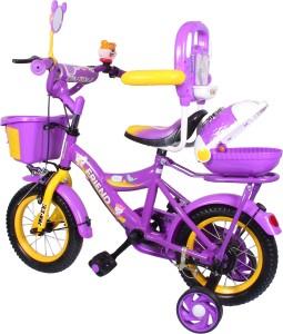 1eb2c4fe152 HLX-NMC HLX-NMC KIDS BICYCLE 12 BOWTIE PURPLE YELLOW 12BOWTIEPLYL Recreation  CyclePurple