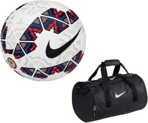 Retail World Cachana Cope America 2015 Football (Size-5) with Gym Duffle Bag Combo Football Kit