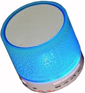 onskart Latest Wireless LED Handfree with Calling Functions & FM Radio Portable Bluetooth Home Audio Speaker