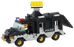 Sluban RIOI POLICE-206PCS