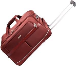 JOURNEY9 SWIFT02_50 RUST Duffel Strolley Bag