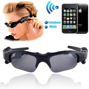 VibeX ® Sunglasses Bluetooth function Stereo headphone Microphone Wireless Bluetooth Headset With Mic