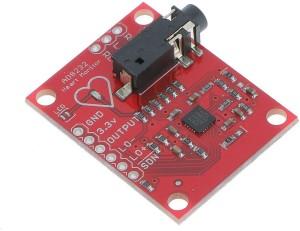 LogicInside Single Lead AD8232 ECG Monitoring Kit / Heart Beat Monitoring  ModuleRed