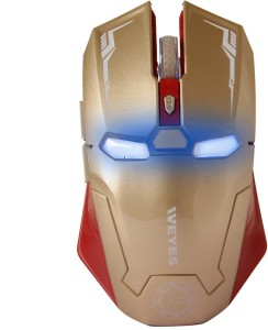 modisch LT-035 Iron Man Wireless Gaming Mouse Wireless Optical  Gaming Mouse
