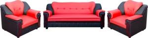Knight Industry Leatherette 3 + 1 + 1 MULTICOLOR Sofa Set