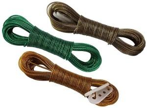 734abec30817 bajrang Clothes Steel Rope 20m(03 pcs.) Plastic, Steel Clothesline20 m