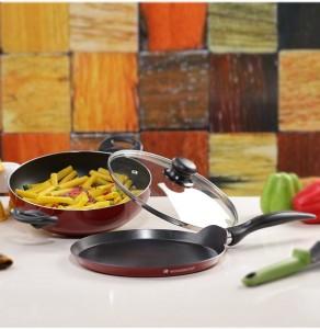 Wonderchef Ruby Series Cookware Set