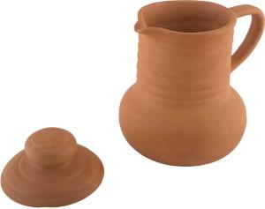 Village Decor Terracotta/ Clay Earthen Pot Water Jug1 L