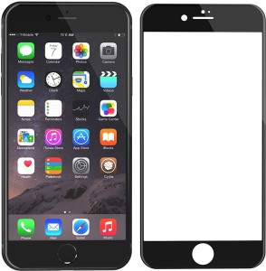 best website 2e0e7 b85b1 TDG Tempered Glass Guard for Apple iPhone 6S (4.7 inch, Black) (3D Full  Curved Screen Coverage)