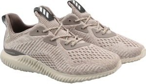 11eeadc96bfb6 Adidas ALPHABOUNCE EM M Running Shoes Brown Best Price in India ...