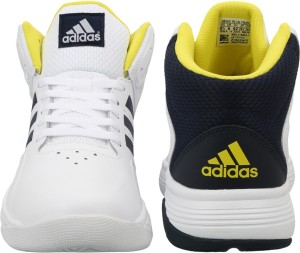 71b310dccfb Adidas Neo CLOUDFOAM ILATION MID Sneakers White Best Price in India ...