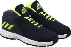 timeless design 11be0 9b711 Adidas HOOPSTA Basketball Shoes ( Blue )