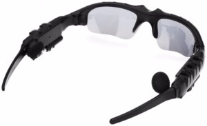 12a3d388d159 Wonder World ™ Motorcycle Bluetooth Sunglasses Sun Glasses Music Headsets  Headphones Wireless Bluetooth Headset With MicBlack
