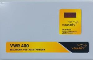 V Guard VWR400 V-GUARD VOLTAGE STABILIZER Voltage Stabilizer (For AC Upto 1.5 Ton)