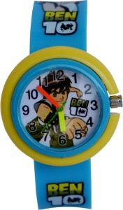 Creator Ben-10 New Design Round Dial Blue(Random Colours Available)Gift Analog Watch  - For Boys & Girls