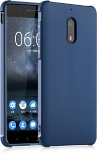 reputable site 97d35 dc1c5 Kapa Back Cover for Nokia 6Blue